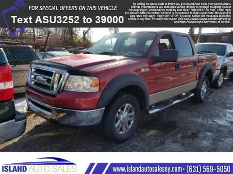 2008 Ford F-150 for sale at Island Auto Sales in E.Patchogue NY