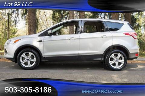 2013 Ford Escape for sale at LOT 99 LLC in Milwaukie OR
