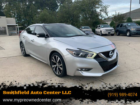 2017 Nissan Maxima for sale at Smithfield Auto Center LLC in Smithfield NC
