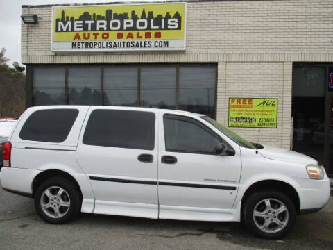 2007 Chevrolet Uplander for sale at Metropolis Auto Sales in Pelham NH