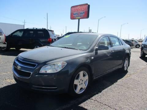 2008 Chevrolet Malibu for sale at Sunrise Auto Sales in Liberal KS