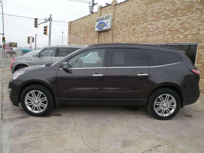 2015 Chevrolet Traverse for sale at Kingdom Auto Centers in Litchfield IL