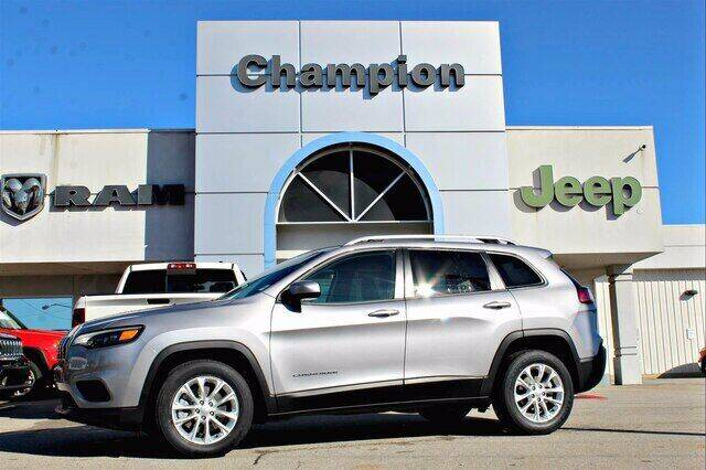 2020 Jeep Cherokee for sale at Champion Chevrolet in Athens AL