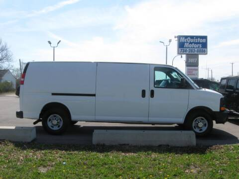 2014 Chevrolet Express Cargo for sale at MCQUISTON MOTORS in Wyandotte MI
