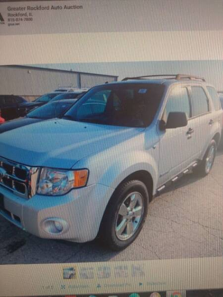 2008 Ford Escape for sale at Auto Solutions of Rockford in Rockford IL