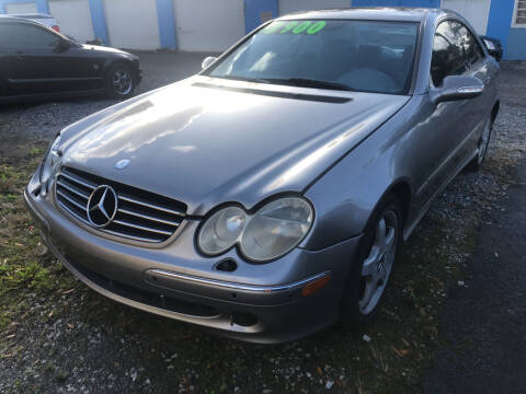 2003 Mercedes-Benz CLK for sale at The Peoples Car Company in Jacksonville FL