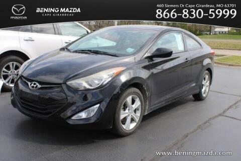 2013 Hyundai Elantra Coupe for sale at Bening Mazda in Cape Girardeau MO