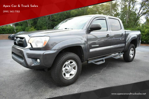 2012 Toyota Tacoma for sale at Apex Car & Truck Sales in Apex NC