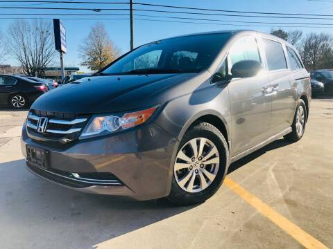 2016 Honda Odyssey for sale at Capital Motors in Raleigh NC