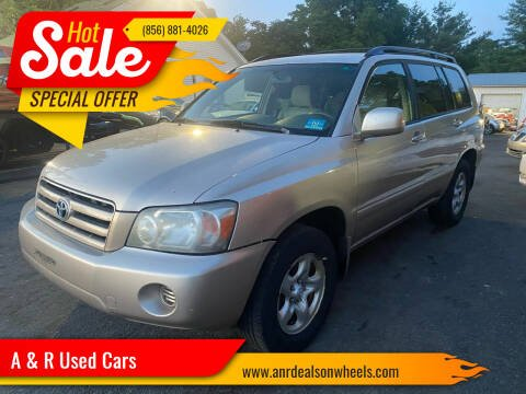 2006 Toyota Highlander for sale at A & R Used Cars in Clayton NJ