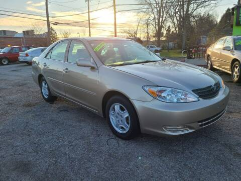 2002 Toyota Camry for sale at Johnny's Motor Cars in Toledo OH