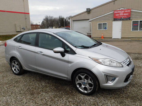 2011 Ford Fiesta for sale at Macrocar Sales Inc in Akron OH