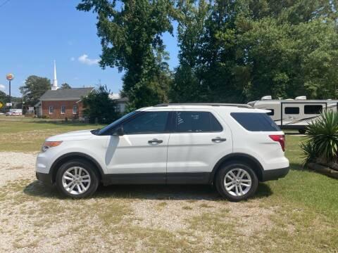 2013 Ford Explorer for sale at Joye & Company INC, in Augusta GA