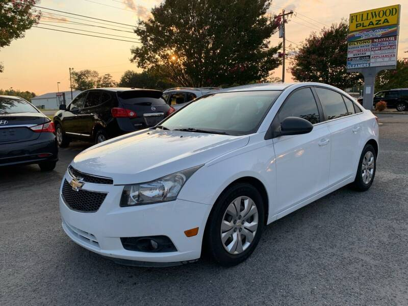 2012 Chevrolet Cruze for sale at 5 Star Auto in Matthews NC