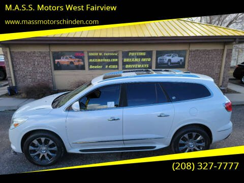 2017 Buick Enclave for sale at M.A.S.S. Motors - West Fairview in Boise ID