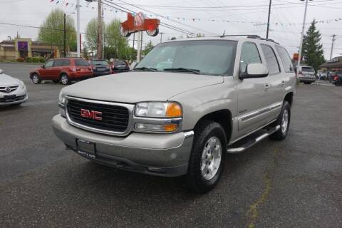 2004 GMC Yukon for sale at Leavitt Auto Sales and Used Car City in Everett WA