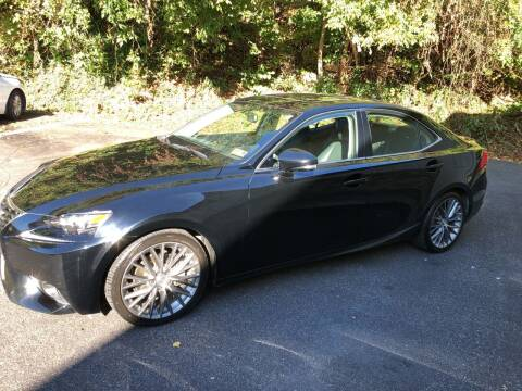 2015 Lexus IS 250 for sale at WHARTON'S AUTO SVC & USED CARS in Wheeling WV
