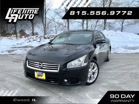 2014 Nissan Maxima for sale at Lifetime Auto in Elwood IL