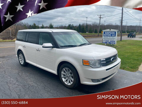 2009 Ford Flex for sale at SIMPSON MOTORS in Youngstown OH