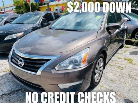 2013 Nissan Altima for sale at ROCKLEDGE in Rockledge FL