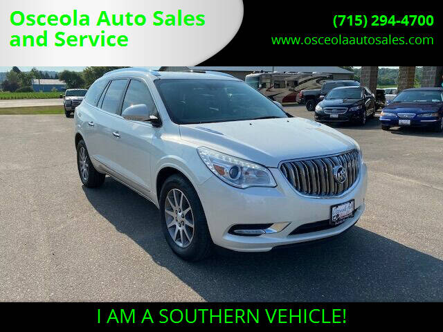 2014 Buick Enclave for sale at Osceola Auto Sales and Service in Osceola WI