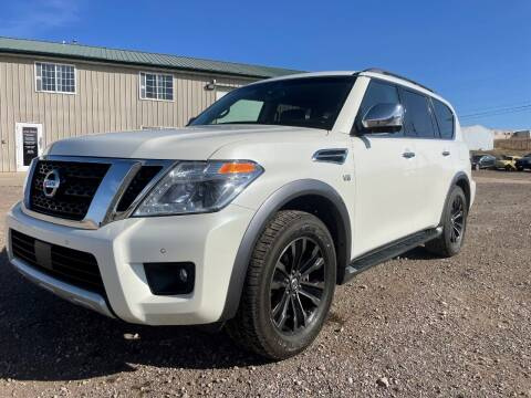2017 Nissan Armada for sale at Northern Car Brokers in Belle Fourche SD