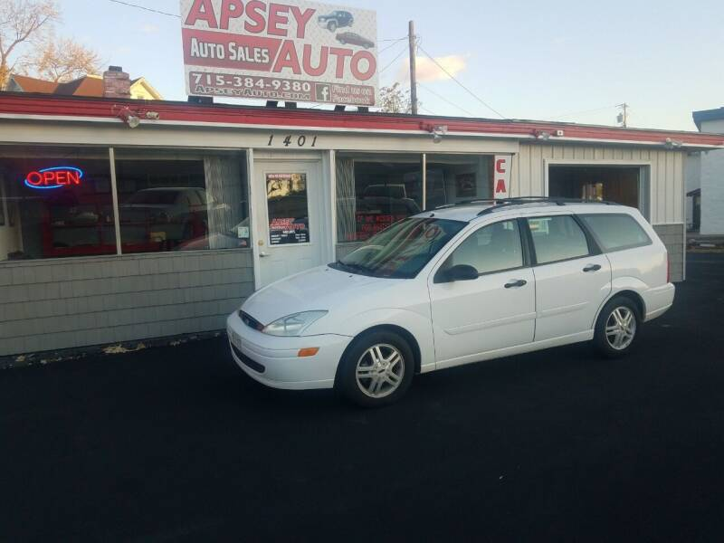 2000 Ford Focus for sale at Apsey Auto in Marshfield WI