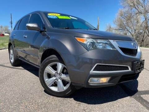 2011 Acura MDX for sale at UNITED Automotive in Denver CO