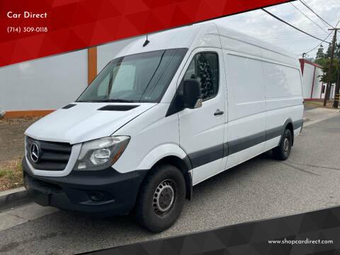 2018 Mercedes-Benz Sprinter Cargo for sale at Car Direct in Orange CA