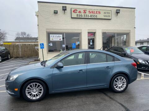 2012 Chevrolet Cruze for sale at C & S SALES in Belton MO