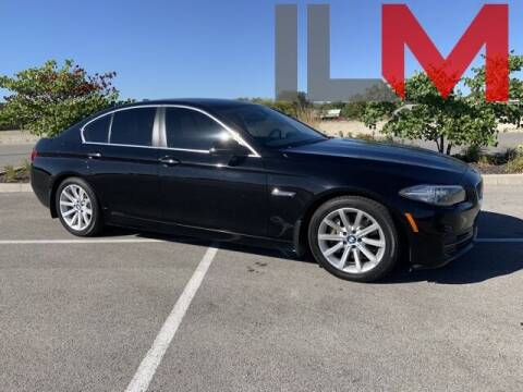 2014 BMW 5 Series for sale at INDY LUXURY MOTORSPORTS in Fishers IN