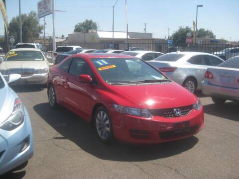2011 Honda Civic for sale at Town and Country Motors - 1702 East Van Buren Street in Phoenix AZ