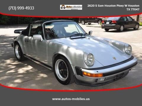 1986 Porsche 911 for sale at AUTOS-MOBILES in Houston TX