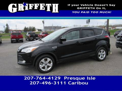 2016 Ford Escape for sale at Griffeth Mitsubishi - Pre-owned in Caribou ME