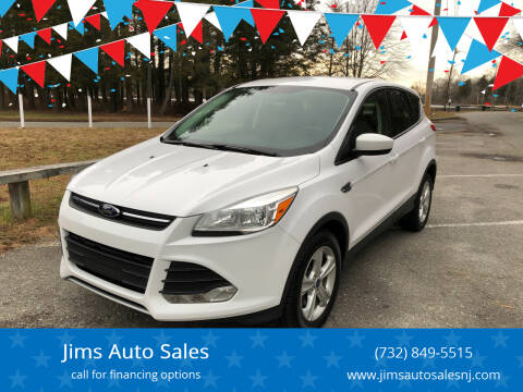 2014 Ford Escape for sale at Jims Auto Sales in Lakehurst NJ