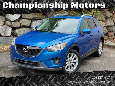 2013 Mazda CX-5 for sale at Championship Motors in Redmond WA