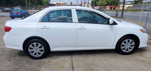2009 Toyota Corolla for sale at Tims Auto Sales in Rocky Mount NC