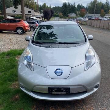 2011 Nissan LEAF for sale at Road Star Auto Sales in Puyallup WA