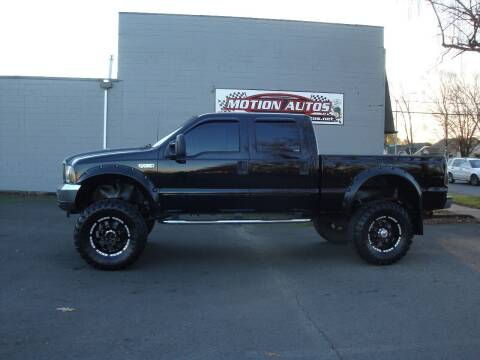 2002 Ford F-250 Super Duty for sale at Motion Autos in Longview WA
