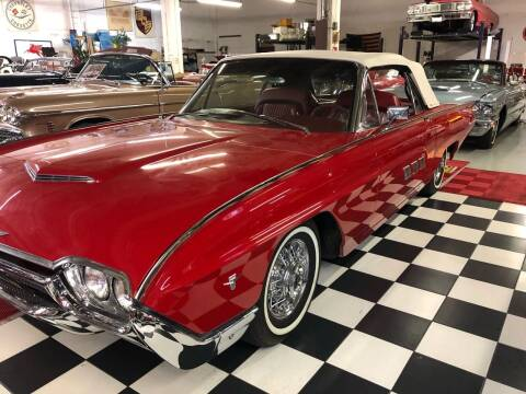 1963 Ford Thunderbird for sale at Berliner Classic Motorcars Inc in Dania Beach FL