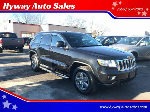 2012 Jeep Grand Cherokee for sale at Hyway Auto Sales in Lumberton NJ