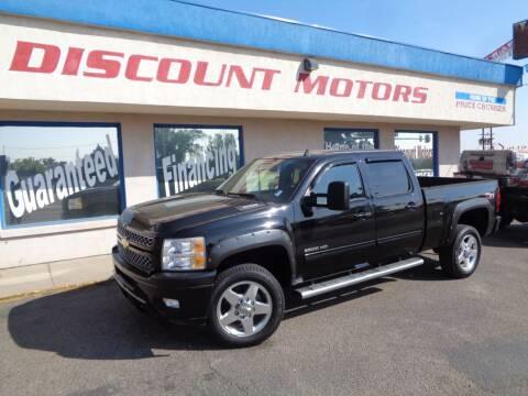 2012 Chevrolet Silverado 2500HD for sale at Discount Motors in Pueblo CO