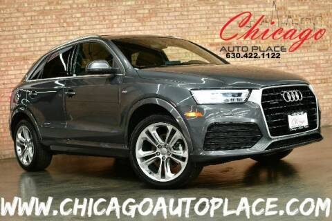 2018 Audi Q3 for sale at Chicago Auto Place in Bensenville IL