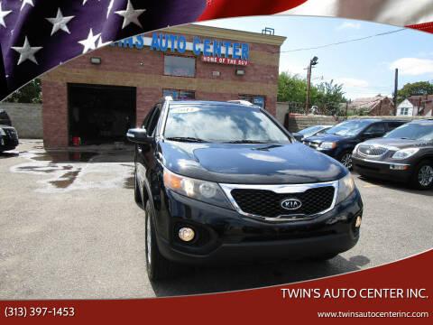 2011 Kia Sorento for sale at Twin's Auto Center Inc. in Detroit MI
