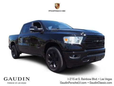 2021 RAM Ram Pickup 1500 for sale at Gaudin Porsche in Las Vegas NV