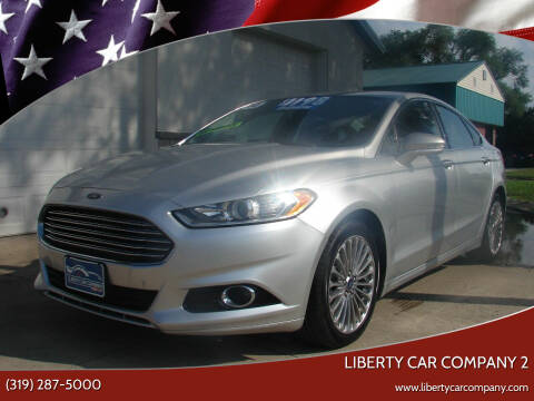 2014 Ford Fusion for sale at Liberty Car Company - II in Waterloo IA