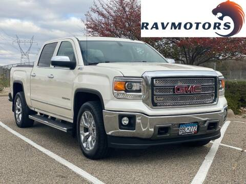 2014 GMC Sierra 1500 for sale at RAVMOTORS in Burnsville MN