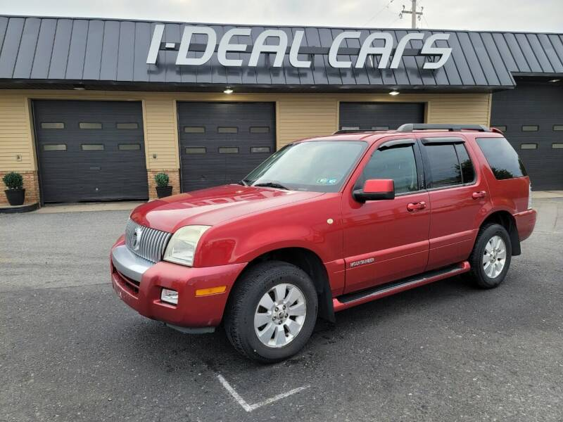 2007 Mercury Mountaineer for sale at I-Deal Cars in Harrisburg PA