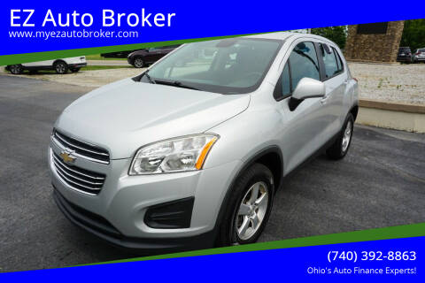2016 Chevrolet Trax for sale at EZ Auto Broker in Mount Vernon OH