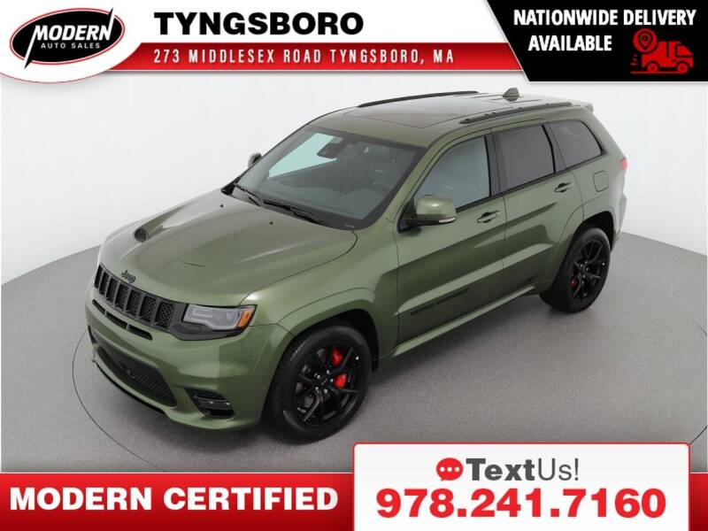 2021 Jeep Grand Cherokee for sale at Modern Auto Sales in Tyngsboro MA